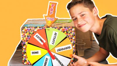 Top This - The Wheel of Dares Challenge