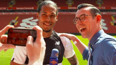 """MOTD Kickabout - Liverpool's Van Dijk: """"A dream come true"""""""
