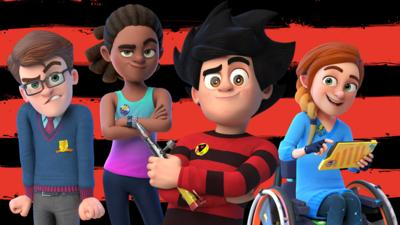 Dennis and Gnasher Unleashed - Which Dennis Unleashed character are you?