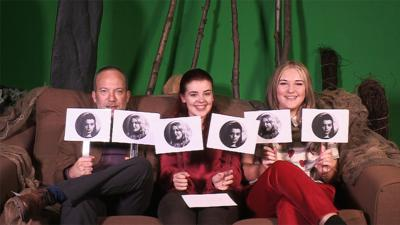 Wolfblood - The Wolfblood cast play 'Who is most likely to...?'