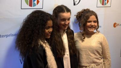 CBBC HQ - Katie crashes The Worst Witch premiere