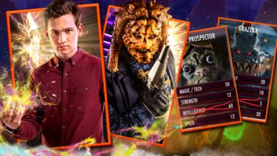 Wizards vs Aliens - Wizards vs Aliens Card Battler