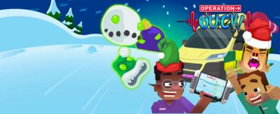 Play the new Christmas game with Operation Ouch on CBBC and blast your way through evil snow creatures!
