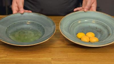 CBBC Dish Up - How to separate egg yolks