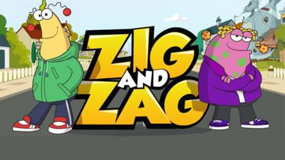 Zig and Zag - Kaiser Chiefs rock the Zig and Zag theme tune!