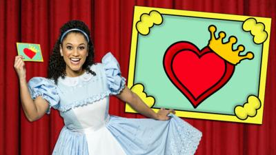 CBeebies Alice in Wonderland - Tea Party Invitation