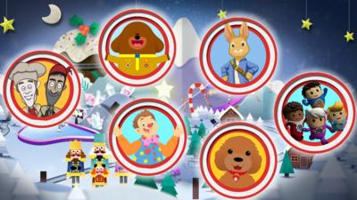 CBeebies House - CBeebies Christmas Wonderland Game