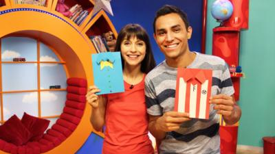 CBeebies House - Father's Day Card