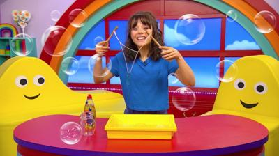 CBeebies House - Do you know how to make bubbles?