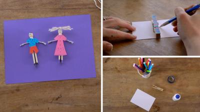 Junk Rescue - Get crafty with clothes pegs