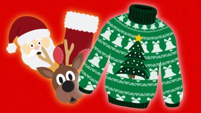 Create a Christmas jumper
