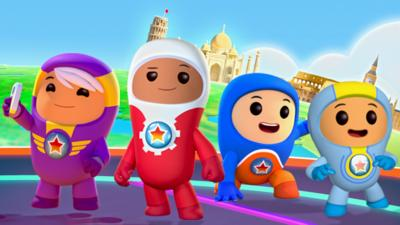 Go Jetters - Meet the Go Jetters