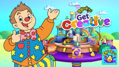 CBeebies Get Creative app