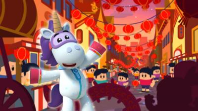 Go Jetters - Chinese New Year Funky Facts Quiz
