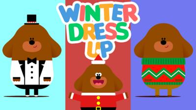 Hey Duggee - Winter dress up with Duggee!