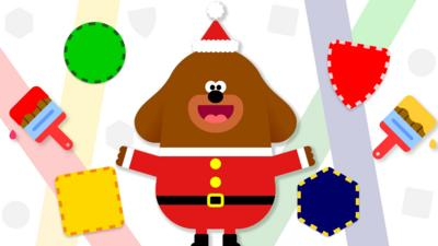 Hey Duggee - Hey Duggee Christmas Badge Maker