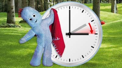 In the Night Garden - Six bedtime clock change tips for kids