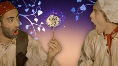 CBeebies A Midsummer Night's Dream - Create a Magic Flower