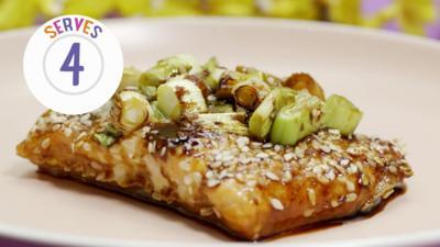 My World Kitchen - Hannah's Korean Salmon Parcels