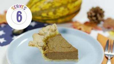 My World Kitchen - Febo's USA Pumpkin Pie