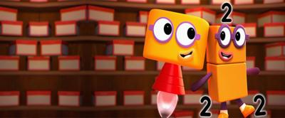 numberblocks two and two times table song.