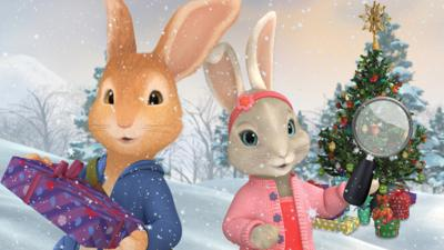 Peter Rabbit - Christmas Spot the Difference