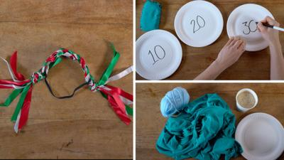 Junk Rescue - Fabulous string and ribbon