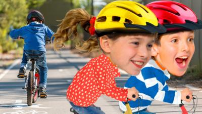 Topsy and Tim  - Five tips to teach your child to cycle