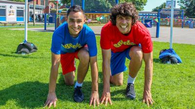 CBeebies House - Get ready for sports day