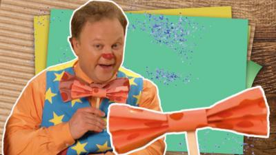 Something Special - Make Mr Tumble's bow tie
