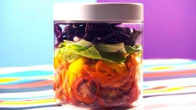 The Let's Go Club - Salad in a Jar