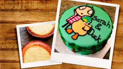 Sarah and Duck - Sarah & Duck Cake