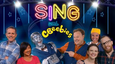 Sing with CBeebies logo