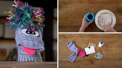 Junk Rescue - Make something silly with those odd socks