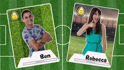 CBeebies House - Make A CBeebies Football Sticker