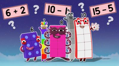 Numberblocks - Super Special Sum Spotter Quiz