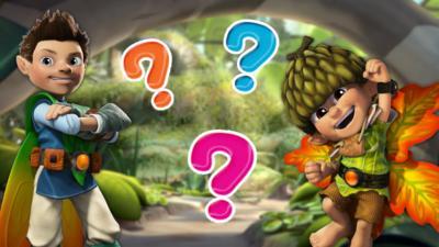 Tree Fu Tom - Tree Fu Tom Guess Who Quiz