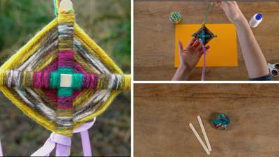 Junk Rescue - Wow with wooden lolly sticks