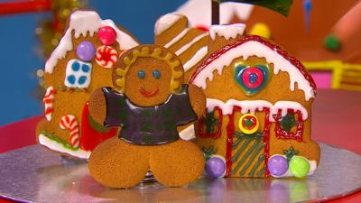 CBeebies House - Decorate your Gingerbread with Andy and Cat