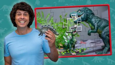 Andy's Dino Toybox - Andy's Dino Toybox Jigsaw Game
