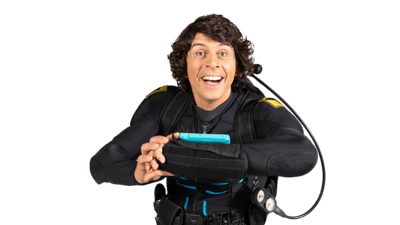 Andy Day - in Andy's Aquatic Adventures