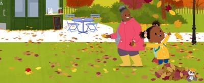 Play JoJo and Gran Gran Autumn Leaves Quiz