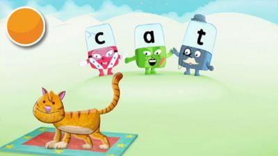 Alphablocks - The Cat Sat on the Mat