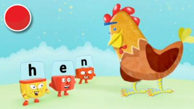 Alphablocks - Hen