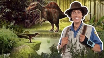 Andy's Prehistoric Adventures - Andy's Dinosaur Adventures Game