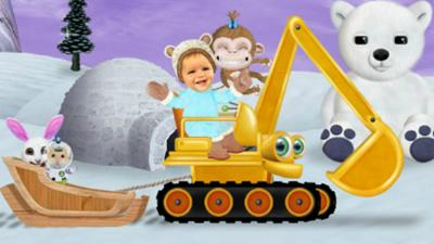 Baby Jake - Baby Jake's Drive and Find Game
