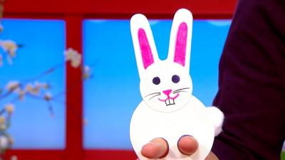 CBeebies House - Easter bunny make