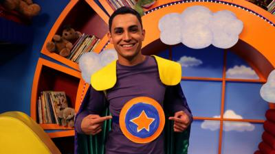 CBeebies House - Make your own Go Jetters badge