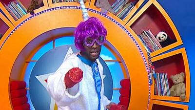 CBeebies House - Ryan's funky disco dance