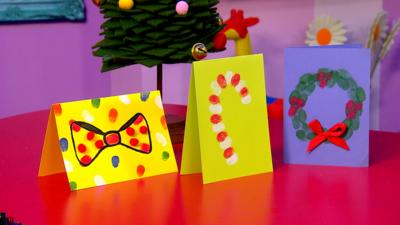 CBeebies House - Make your own Christmas cards
